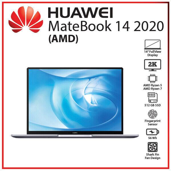 Laptop Windows - Huawei MateBook 14 2020 AMD Ryzen 5 Ryzen 7 Radeon 16GB+512GB SSD Windows Laptop