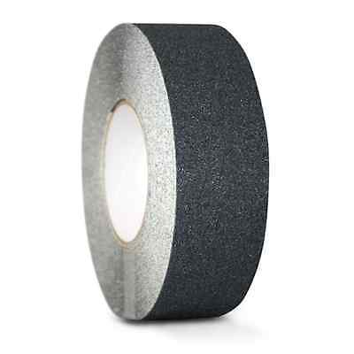2 X 60ft Black Roll Safety Non Skid Tape Anti Slip Tape Sticker Grip Safe Grit