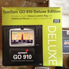 Tom Tom go 910 deluxe edition sat nav