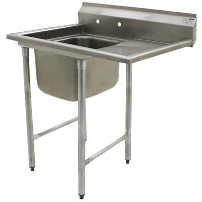Eagle 414-22-1-24 R One Compartment Sink 22 Bowl 24 Drainboard