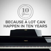Roland Digital Conservatory Certified Pianos! We ship to you!