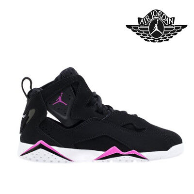 Nike Jordan Girl - NIKE JORDAN TRUE FLIGHT GG GIRL BLACK PINK KIDS 100% ATHLETIC 342774-001 GS