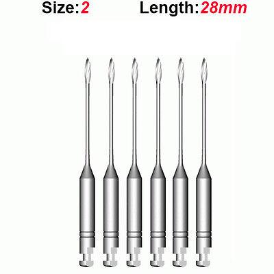 Top Quality Endo Dental Endodontic Gates Glidden Drills 2 28mm 6pkg
