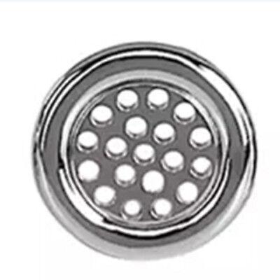 EUB Bathroom Sink Overflow Trim Ring Cover Plat Chrome