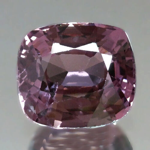 2.40cts Classic Cushion Purple Natural Spinel Loose Genuine Gemstones Free Ship