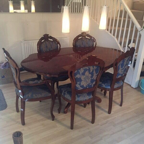 Italian Rococo Style Dining Table   Chairs   REDUCED FOR QUICK SALE. Italian Rococo Style Dining Table   Chairs   REDUCED FOR QUICK