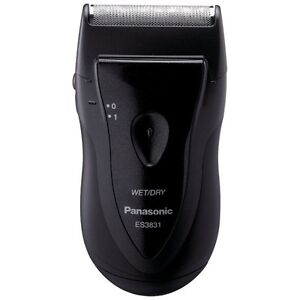PANASONIC ES3831K Pro-Curve Battery Operated Travel Wet/Dry Shaver