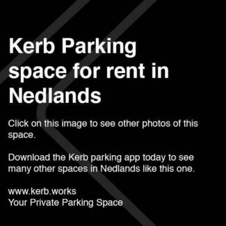 Kerb Parking App - NEDLANDS $10/day