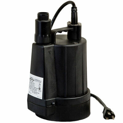 Zoeller N42 - 15 Gpm 1 Floor Sucker Ii Oil-free Submersible Utility Pump