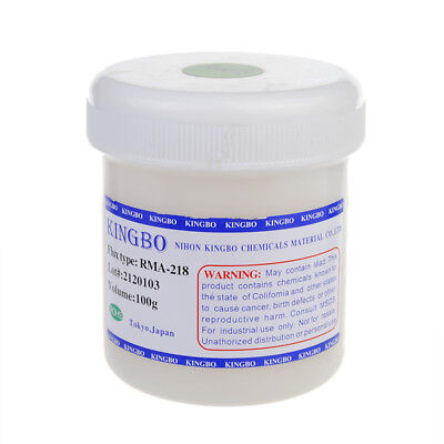 100g Kingbo Rma-218 Solder Flux Solder Paste For Bga Pcb Repairing