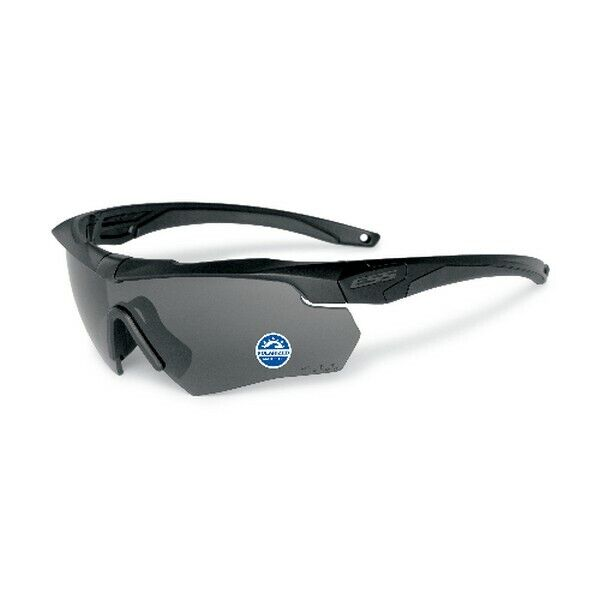 ESS Eyewear 740-0494 Crossbow Black Frame w/ Polarized Grey Lens