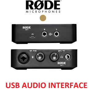 NEW RODE USB MUSICAL INSTRUMENT AUDIO INTERFACE