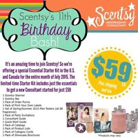 Join Scentsy for $59 today!!