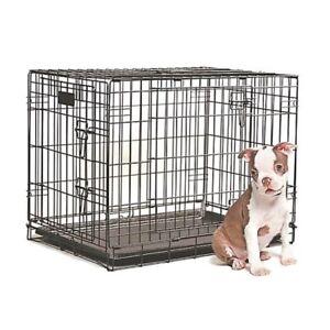 "30"" Petland dog crate. $75"