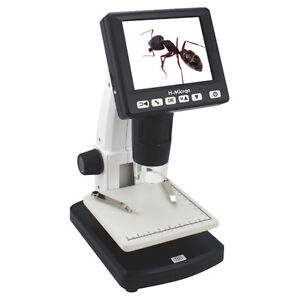From Japan ! BRAND NEW in BOX TEC DIGITAL 1000X MICROSCOPE STANDMICRON