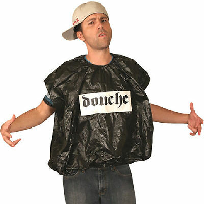 Adult Black & White Douche Bag Morph Halloween Costume One Size Fits Most