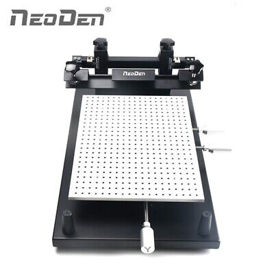 Smt Assembly Prototyping Stencil Printer For 260360mm Board