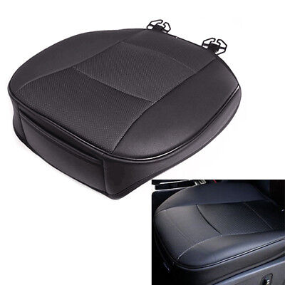 Handy Seat - PU Leather Car Cover Seat Protector Cushion Black Front Cover Handy Interior Kit