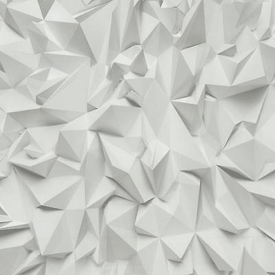 Vlies Tapete P+S TIMES 42097-10 Design architektonische Objekte 3D hellgrau weiß