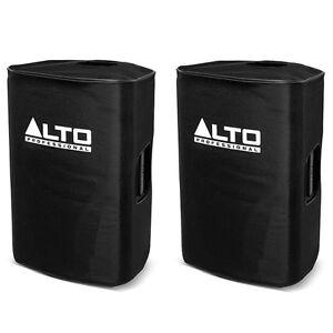 2x Alto TS215 Padded Slip-On Covers for Truesonic TS215 15