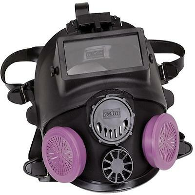North 7600 Series Full Facepiece Respirator With Welding Attachment- Medlg New