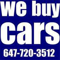Top cash for scrap or unwanted cars 647-720-3512