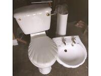 Sink n toilet