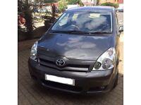Toyota Corolla Verso VVT-I 1.8 engine 7 seater beautiful family car