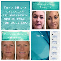 Try a 35 Day Trial of the Cellular Rejuvenation Serum by JG