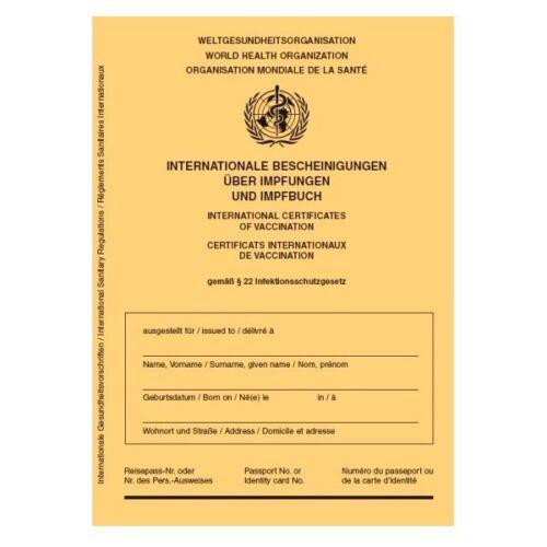 Internationaler Impfausweis Impfpass Impfbuch neu International