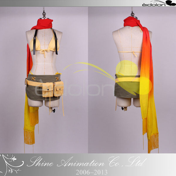 EE0025BK Final Fantasy XII Rikku Cosplay Costume