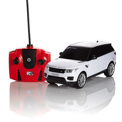 RC RADIO REMOTE CONTROLLED WHITE CAR SCALE 1.24 RANGE ROVER SPORT KIDS TOY  GIFT