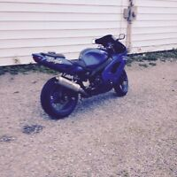Looking to trade sport bike for plow truck
