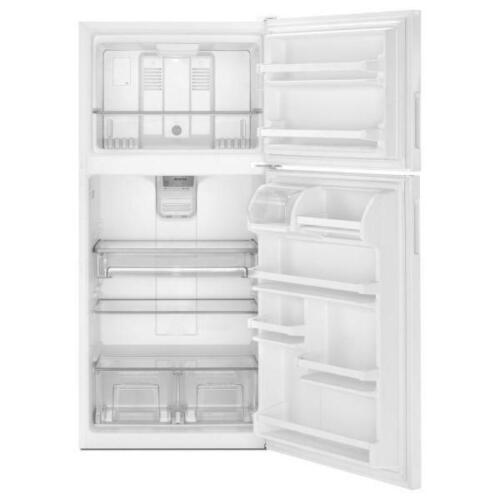 """Maytag White Top Freezer - 30"""" - 18 cu.ft. Still under warranty"""