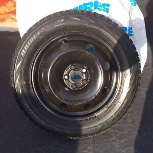 Four Winter tires and rims Kitchener / Waterloo Kitchener Area image 1