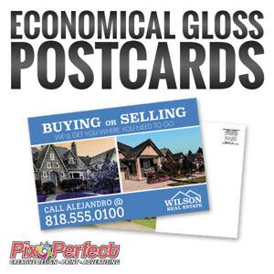 ★Custom UV Glossy Postcard Printing & Design ✂$5 COUPON