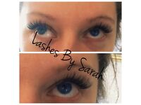 Eyelash extensions offer £30 for home mobile appointments or Thursday in Salon