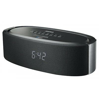 Radio Despertador Alarma Reloj Péndulo + Altavoz Bluetooth USB Stereo Extra Bass