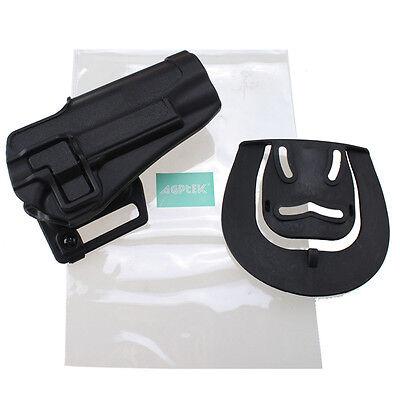 AGPtek Colt 1911 Quick Tactical Holster Right Hand Paddle & Belt Holster Black