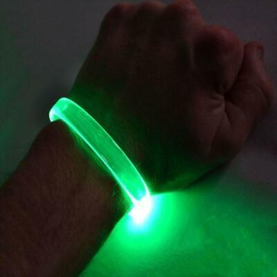 GlowCity Fiber Optic LED Illuminate Lights Up For Halloween Bracelets - 2 Pack](Light Up Bracelets)