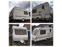Bailey Beachcomber Club 2 berth caravan in super condition