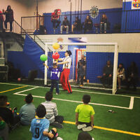 Best Indoor Soccer Birthday Party Room & Field - UNLIMITED KIDS!