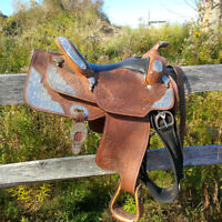 REDUCED TO 1500.00!! Dale Chevez Pleasure saddle for sale.