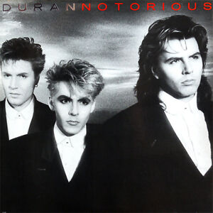 Duran Duran-Notorious LP-Sealed copy from the 1980s