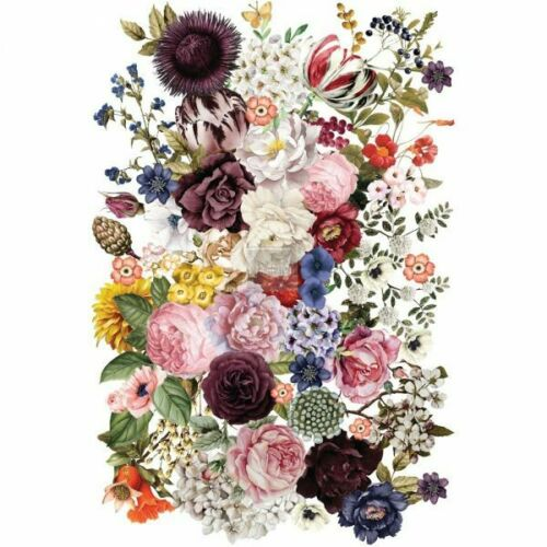 Re-Design with Prima WONDROUS FLORAL Transfer Home Decor - NEW
