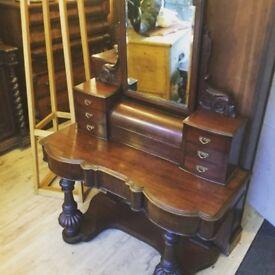 Antique Victorian bedroom dresser