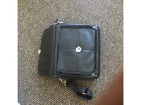 Leather look Dell laptop bag