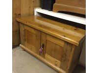Vintage Antique Wooden Cabinet