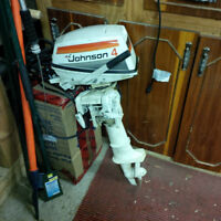 4 HP johnson outboard