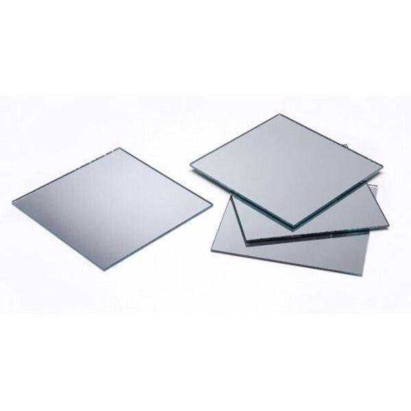 8 Genuine Decorative Glass 2x2 Inch Square Mirrors *